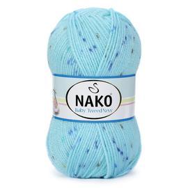 Пряжа Nako Baby Tweed - 32138 св.бирюза, Цвет: 32138 св.бирюза