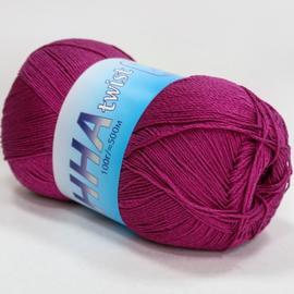 Пряжа Seam Anna Twist - 320 малина, Цвет: 320 малина