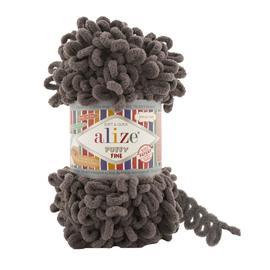 Пряжа Alize Puffy Fine - 305 какао, Цвет: 305 какао