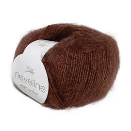 Пряжа Silke Neveline - 408 коричневый, Цвет: 408 коричневый