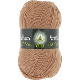Пряжа Vita Brilliant - 5120 бежевый, Цвет: 5120 бежевый