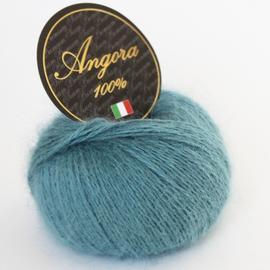 Пряжа Seam Angora 100% 25 гр. - 343 дым.изумруд, Цвет: 343 дым.изумруд