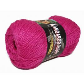 Пряжа Color-City Kangaroo Wool - 230 ягодный, Цвет: 230 ягодный