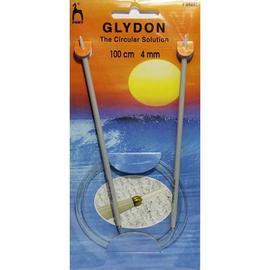 Спицы круговые пластиковые 100 см. GLYDON, Pony 4.00 мм.