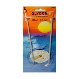 Спицы круговые пластиковые 100 см. GLYDON, Pony 3.75 мм.