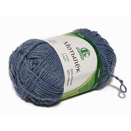 Пряжа Камтекс Мотылек - 022 джинса, Цвет: 022 джинса